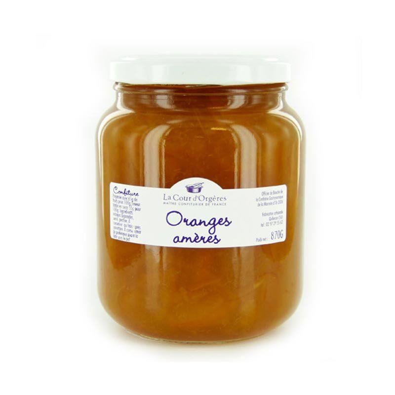 Confiture d orange am re traditionnelles confitures la cour d 39 org res - Marmelade d orange amere ...