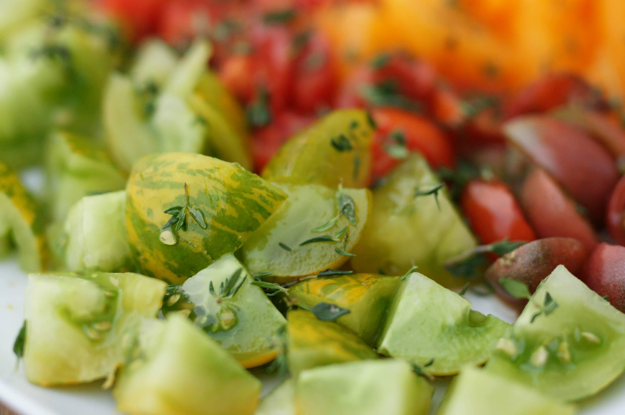 Les tomates vertes en cuisine tout savoir sur les fruits la cour d 39 org res - Cuisiner des tomates vertes ...