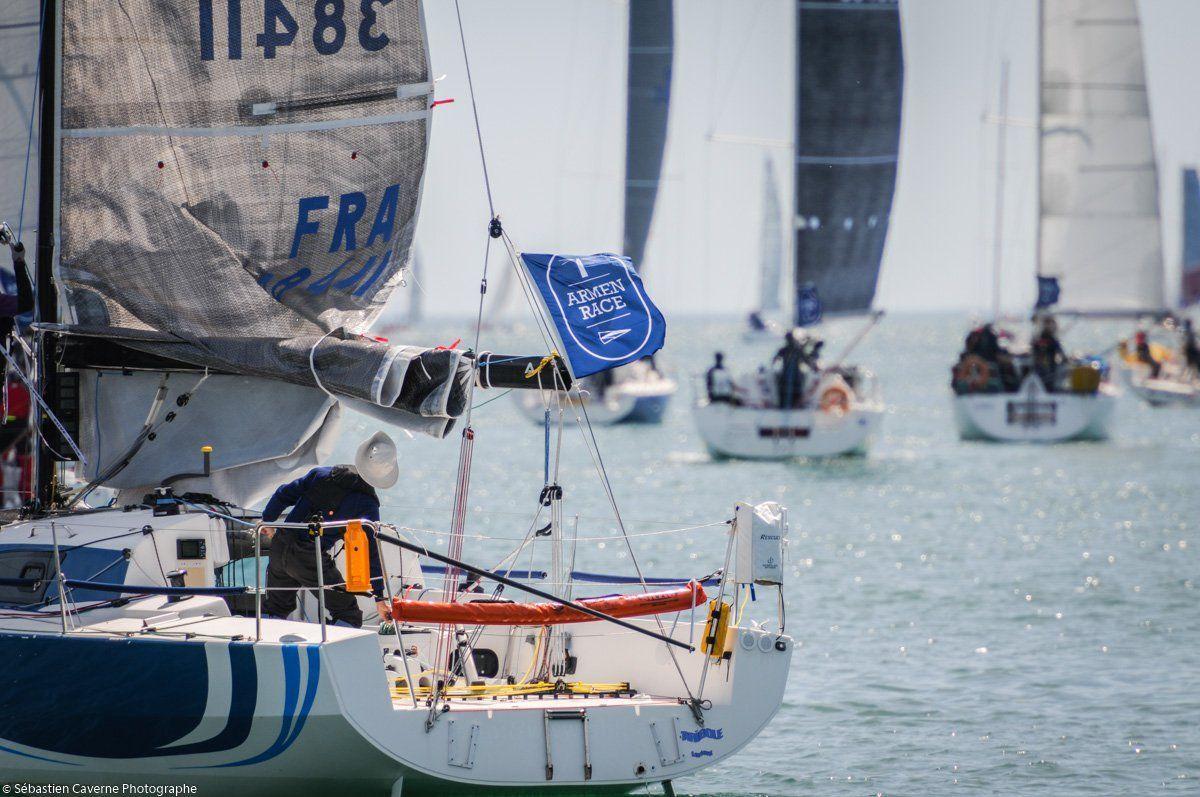 bateau membre participant à l'ArMen Race 2016