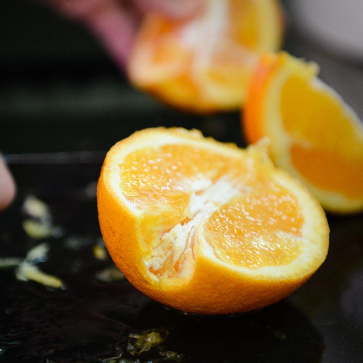 L'orange juteuse