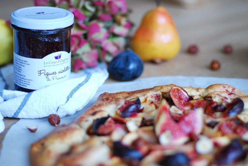 tarte-rustique-fruits-automne-confiture-figues