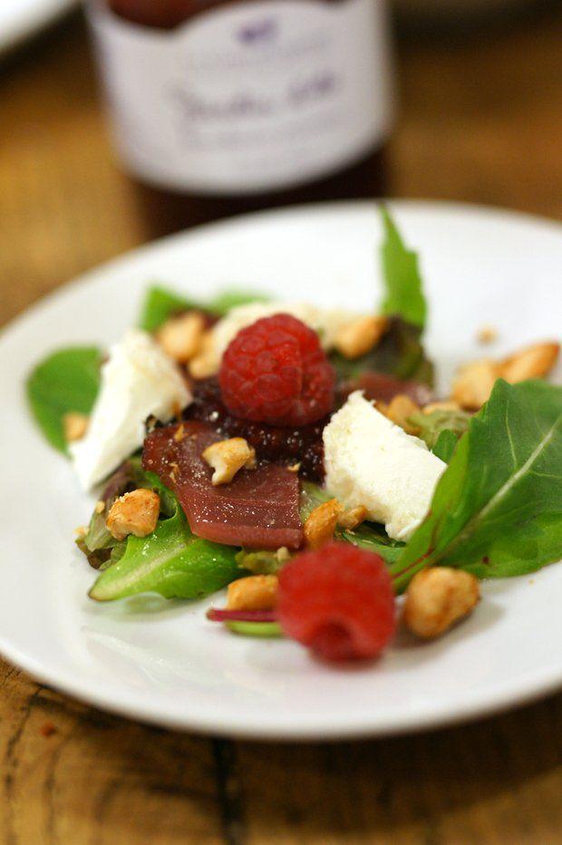 salade-estivale-magret-confiture-lacourdorgeres