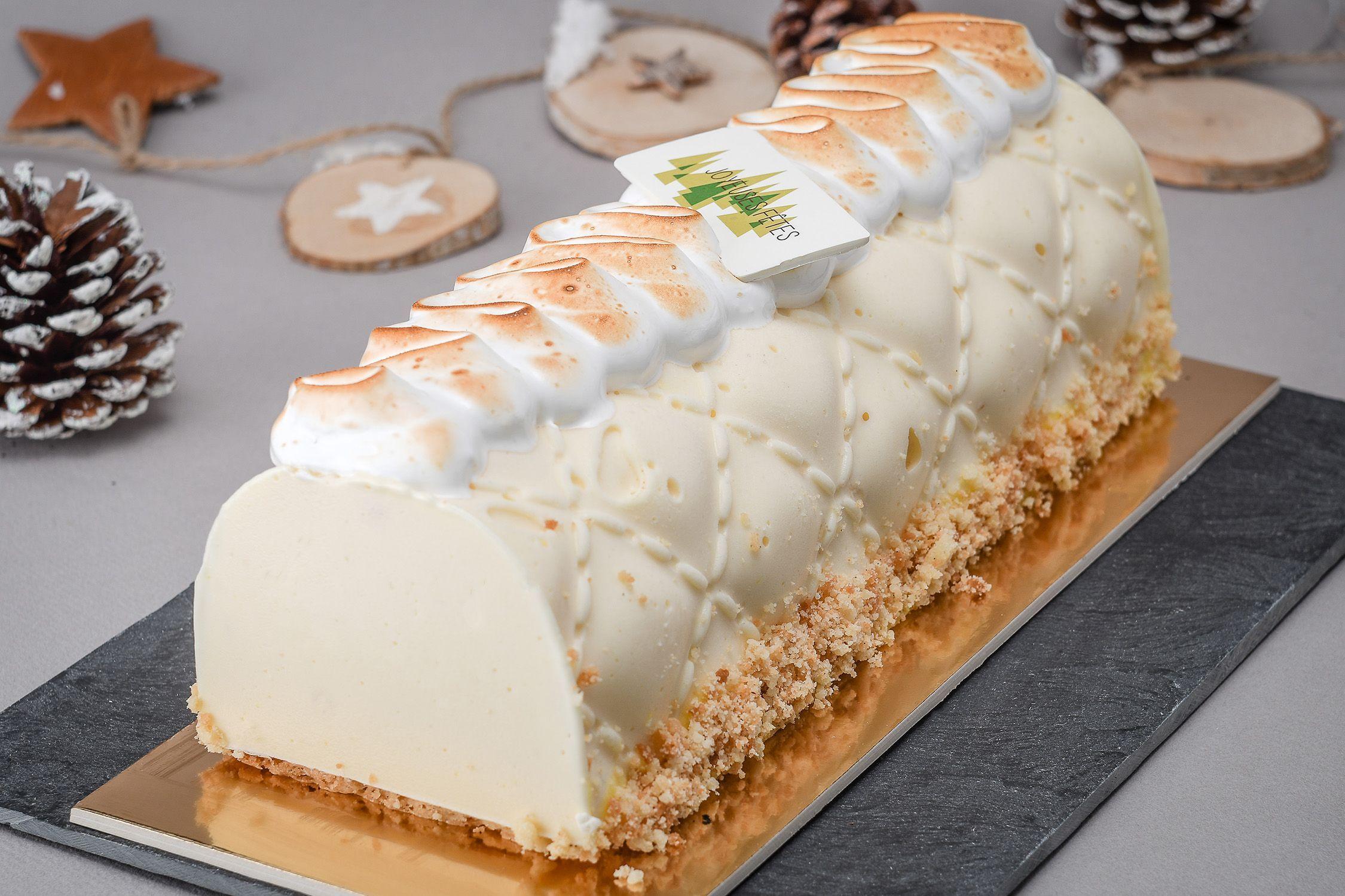 buche glacée tarte au citron