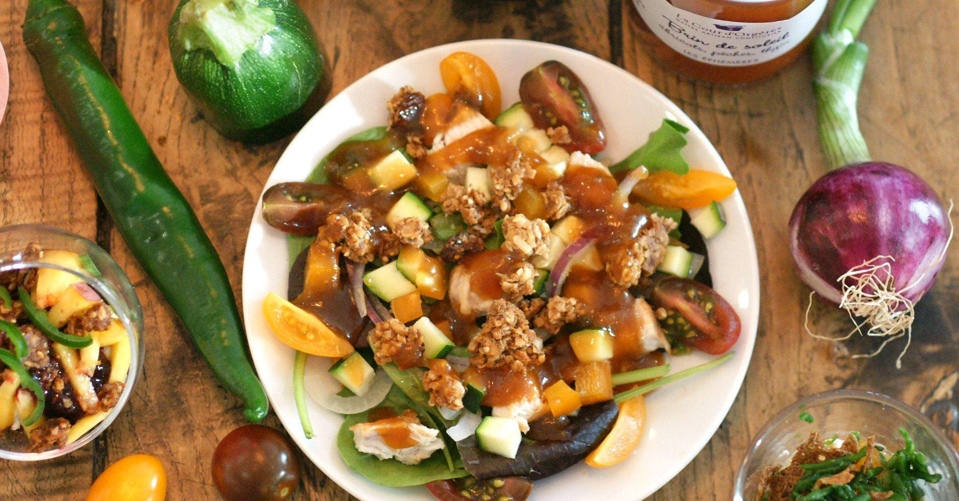 salade vinaigrette brin de soleil