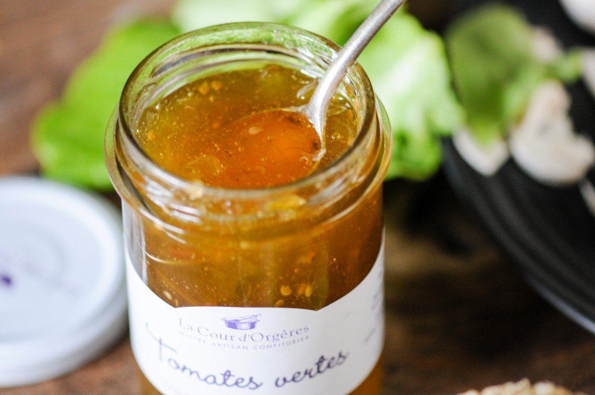 Burger maison sauce tomate verte et moutarde petites recettes gourmandes d guster avec les - Cuisiner des tomates vertes ...