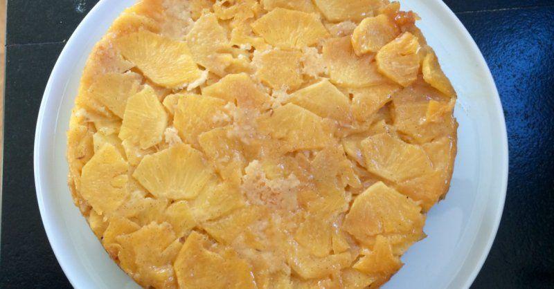 Gâteau planteur à l'ananas