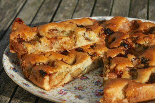gâteau moelleux au figues fraiches